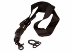 Swiss Arms Tactical Double Bungee Sling w/ M4 Single Point Sling Adapter, Black