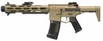"ARES 13"" Experimental ""AAC Honeybadger"" Style Airsoft Rifle, Tan"
