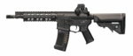 "ARES Amoeba 10"" CQB M4 Airsoft Rifle, Black"