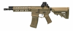 "ARES Amoeba 10"" CQB M4 Airsoft Rifle, Tan"