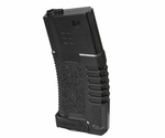 Ares Amoeba ABS Mid Cap Mag, 140 Rounds, Black