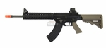 BOLT BR47 AEG Airsoft Rifle w/ Electric Recoil, Tan