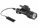 Bravo Airsoft Scout V Tactical Flashlight with Pressure Pad and Mount, Black