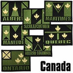 Canadian Territories Regional Patch