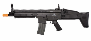 Classic Army FN SCAR-L Sportline AEG Airsoft Rifle, Fully Licensed FN Herstal Trademarks, Black