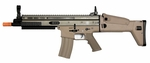 Classic Army FN SCAR-L Sportline AEG Airsoft Rifle, Fully Licensed FN Herstal Trademarks, Tan