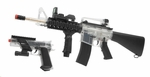 Colt M4 MK IV On Duty RIS AEG Kit with Tactical Pistol, Clear