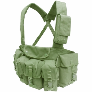 Condor 7 Pocket Tactical Chest Rig, OD Green