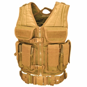 Condor Elite Tactical Vest, Tan