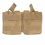 Condor MOLLE Double Open-Top M14 Mag Pouch, Tan