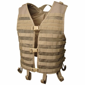 Condor MOLLE Mesh Hydration Tactical Vest, Black