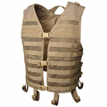 Condor MOLLE Mesh Hydration Tactical Vest, Tan