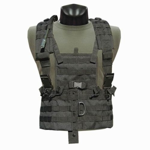 Condor MOLLE Modular Chest Rig/Hydration Carrier, Black
