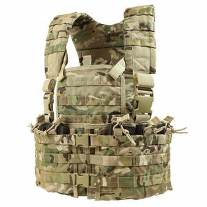 Condor MOLLE Modular Chest Rig/Hydration Carrier, MultiCam