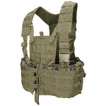 Condor MOLLE Modular Chest Rig/Hydration Carrier, OD Green