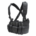 Condor MOLLE Recon Chest Rig, Black