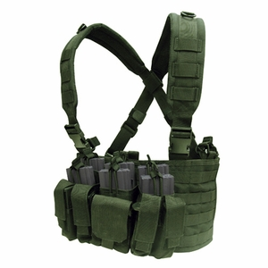Condor MOLLE Recon Chest Rig, OD Green