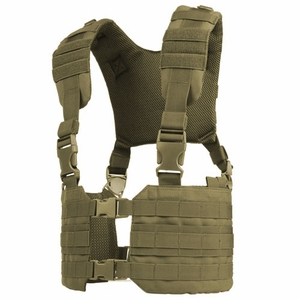 Condor MOLLE Ronin Chest Rig, Tan