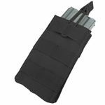 Condor MOLLE Single Open Top M4/M16 Mag Pouch, Black