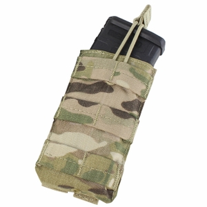 Condor MOLLE Single Open Top M4/M16 Mag Pouch, MultiCam