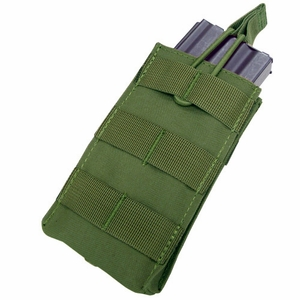 Condor MOLLE Single Open Top M4/M16 Mag Pouch, OD Green