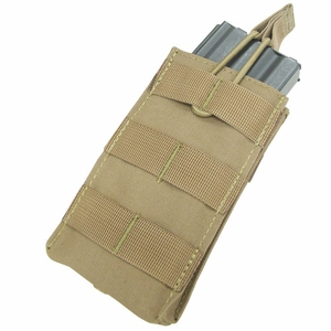 Condor MOLLE Single Open Top M4/M16 Mag Pouch, Tan