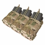 Condor Triple Stacker M4 Mag Pouch, Multicam