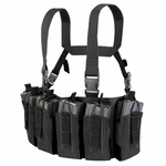 Condor US1051 Barrage Chest Rig, Black