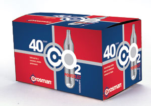 Crosman 12 Gram CO2 (40 Cartridges) - GROUND SHIPPING ONLY