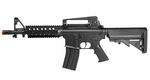 Crosman Pulse Dual Power DP4 RIS Airsoft Rifle, Black