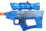 Cyber Stryke X4 Mini Electric Airsoft Gun, Blue