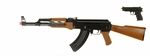 CYMA AK47 Spring Airsoft Rifle with Free Spring Pistol