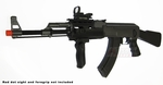 CYMA AK-47 RIS AEG Airsoft Rifle FULL METAL, 380 FPS