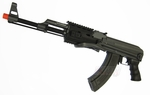 CYMA CM028B AK-47 RIS AEG Airsoft Rifle FULL METAL, 380 FPS, Folding Stock