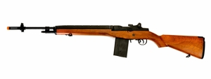 CYMA CM032 M14 AEG Airsoft Rifle, Wood Color