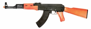 CYMA CM042 AK47 FULL METAL Rifle with Real Wood Stock and Grips