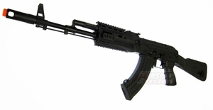 CYMA CM048A Full Metal AK47 Airsoft Rifle with Tactical Rails