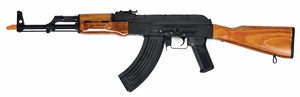 CYMA CM048M Full Metal AK47 Airsoft Rifle with Real Wood Stock and Grips