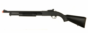 CYMA ZM61A Spring Airsoft Shotgun, FULL METAL BODY, Fixed Stock