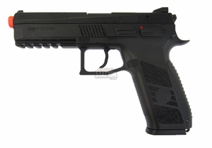 CZ P-09 Gas Blowback Airsoft Pistol w/ Metal Slide by ASG & KJW