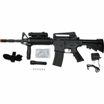 Dboys M4A1 Airsoft Rifle with Laser and Light 3081A