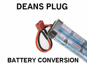 Dean Plug Battery Conversion Service