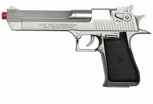 Desert Eagle .44 Magnum Spring Silver Pistol by Magnum Research