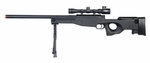 Double Eagle M59P Airsoft Sniper Rifle with Scope and Bipod