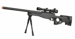 Double Eagle M59P Airsoft Sniper Rifle with Scope and Bipod - REFURBISHED