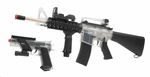 DPMS On Duty Kit, A17 RIS AEG and Colt MK IV Spring Pistol, Clear and Black