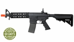 Elite Force M4 CQB AEG Airsoft Rifle, Black (Made by ARES)