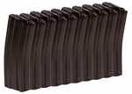 10-pk Elite Force M4/M16 Mid-Cap Rifle Magazine, Black, 140 Rds