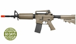 High Velocity Elite Force M4A1 AEG Airsoft Rifle, Dark Earth Brown