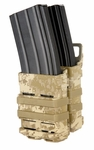 Emerson Quick Draw Double M4 Magazine Holster - Desert Digital Camo